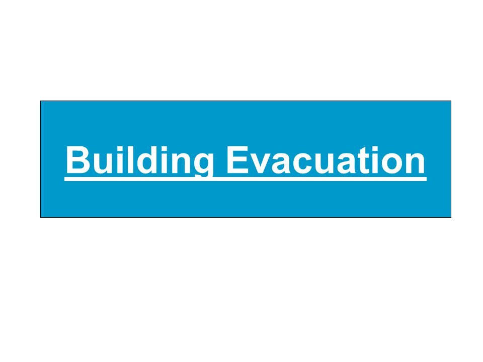 Building Evacuation