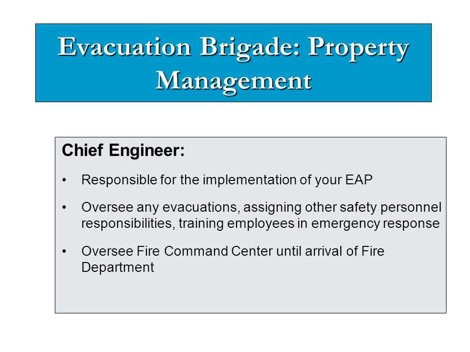 Evacuation Alarm will sound Evacuate the building immediately to your muster area In stairwells, keep to the right.