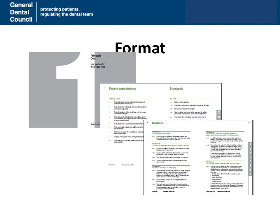 Format www.gdc-uk.org