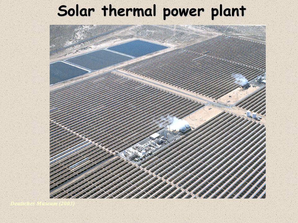 Deutsches Museum (2003) Solar thermal power plant