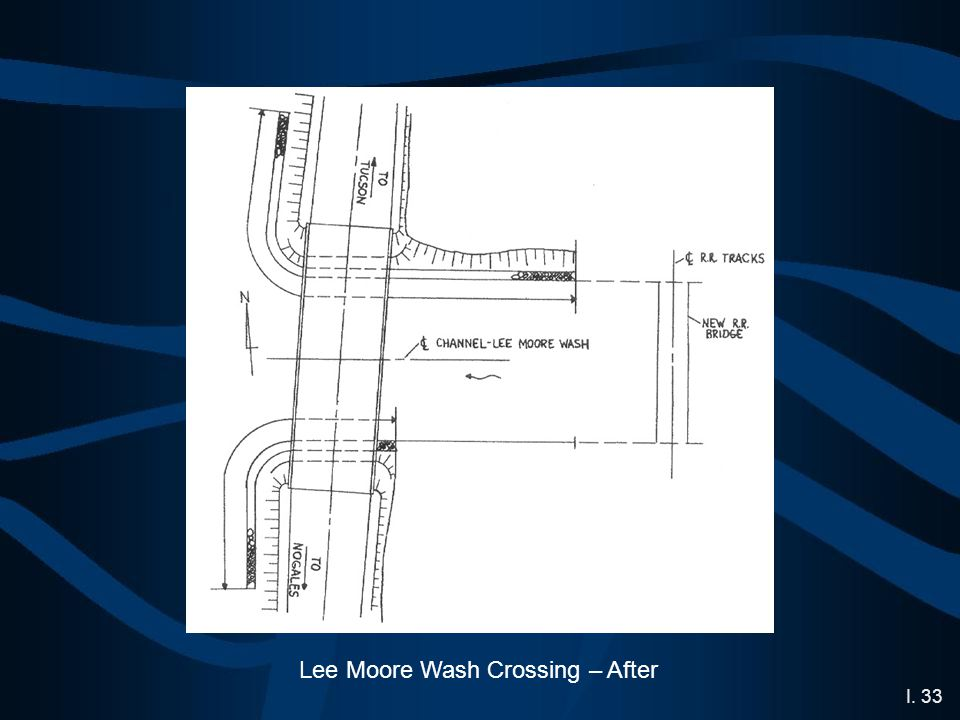 I. 33 Lee Moore Wash Crossing – After