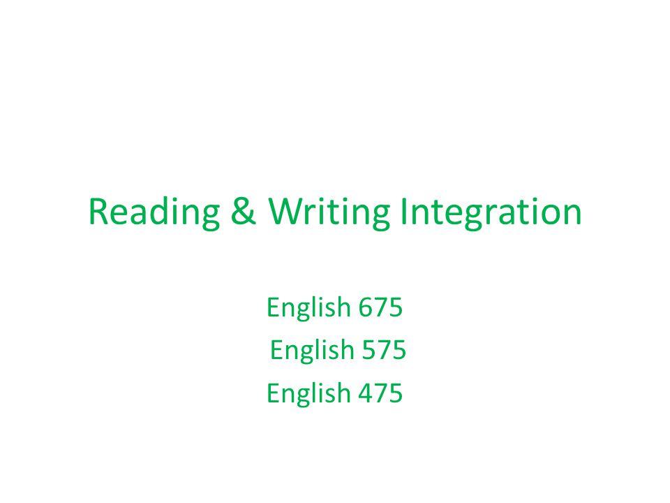 Integrating Assignments and Syllabi Pair up and go over sample assignment/syllabi.