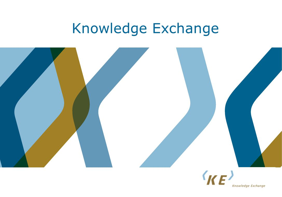 Knowledge Exchange