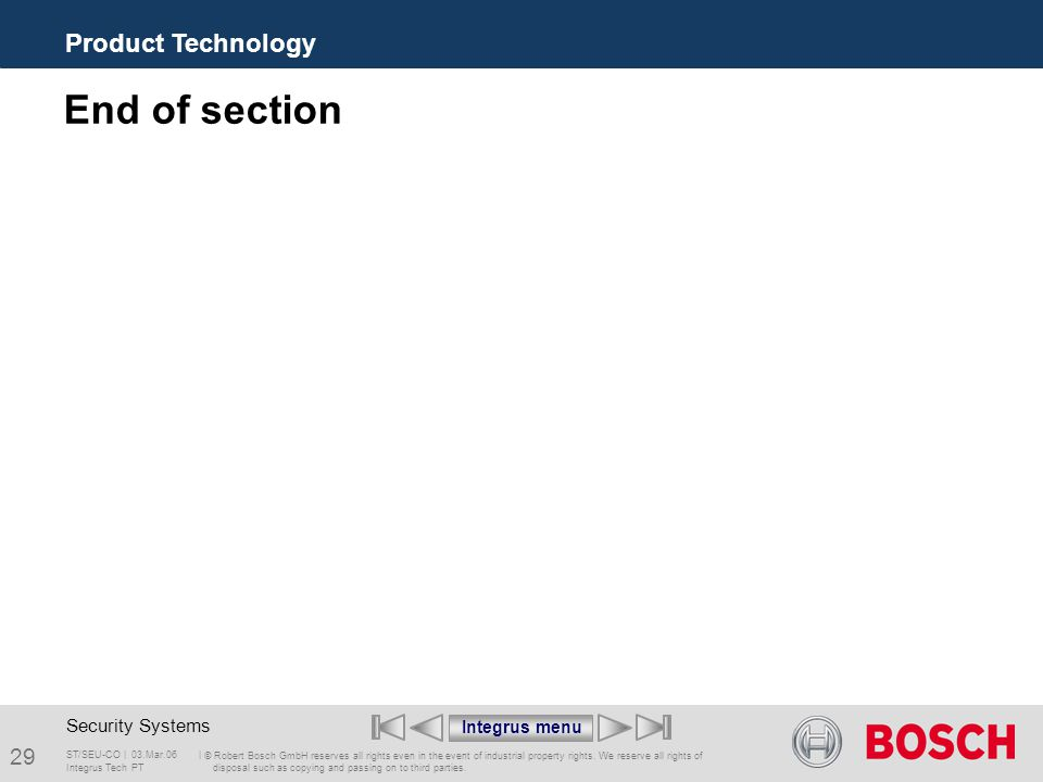 ST/SEU-CO     © Robert Bosch GmbH reserves all rights even in the event of industrial property rights.