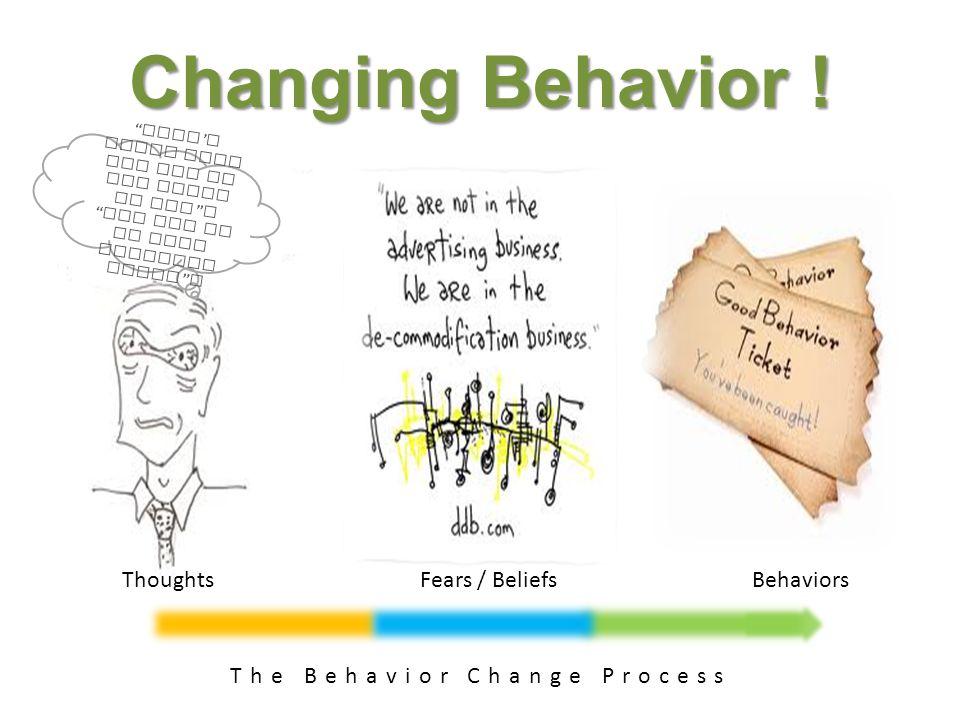 Changing Behavior .