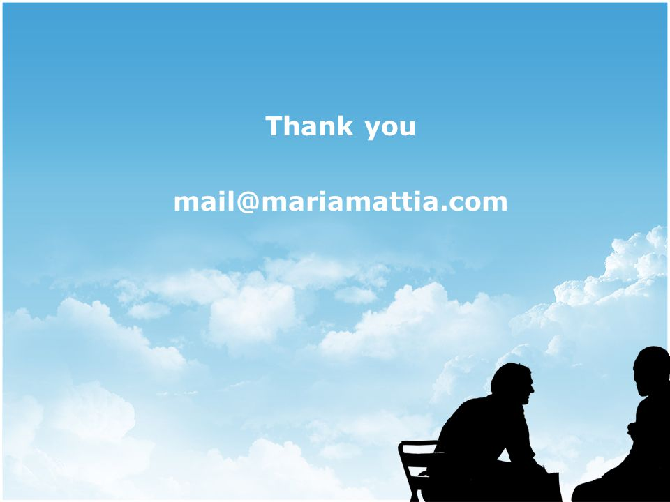 Thank you mail@mariamattia.com