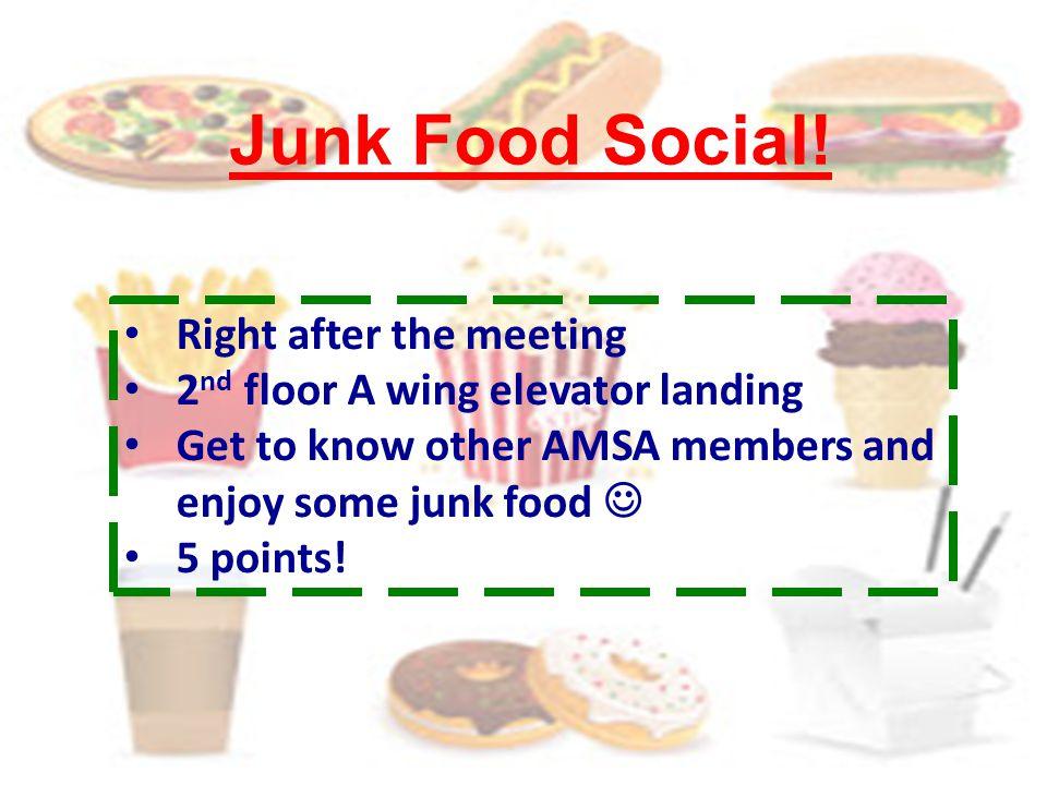 Junk Food Social.