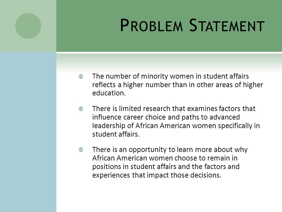 M ETHODOLOGY CONTINUED Population and Site: 7-10 African American women in entry and mid-level positions in student affairs at four-year institutions across the country.