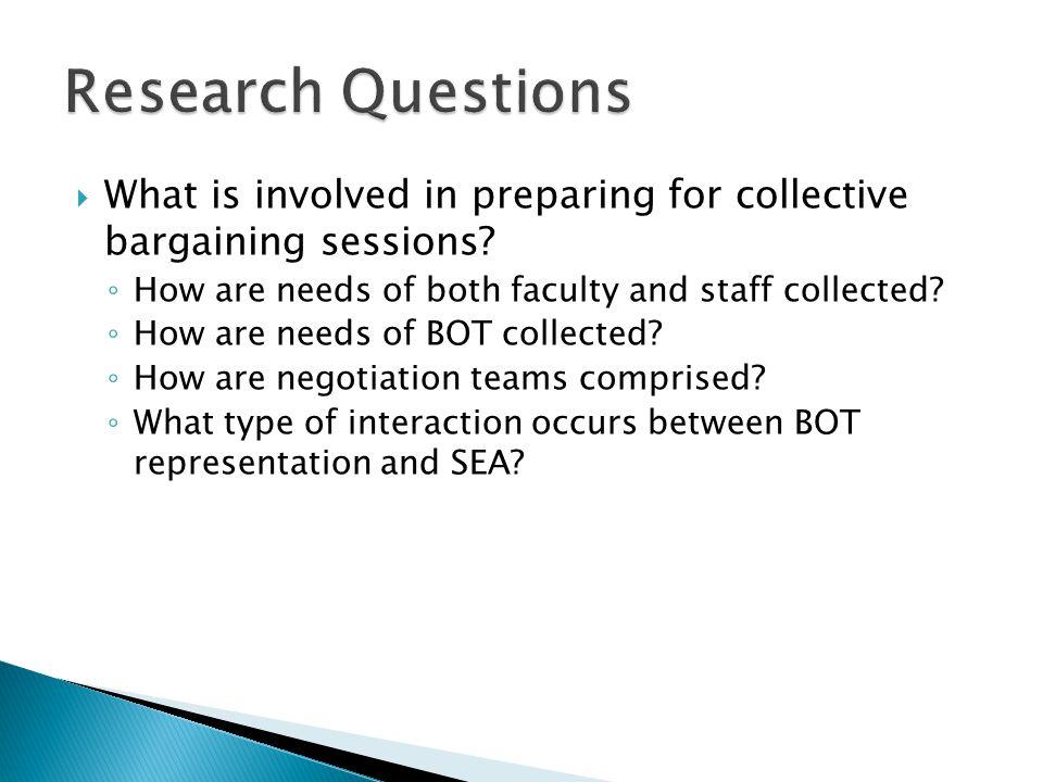  In-depth narrative qualitative case study exploring unique aspects of joint bargaining unit.