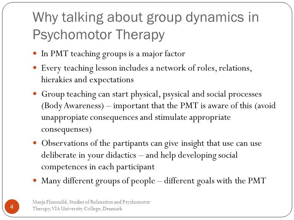 Manja Flammild, Studies of Relaxation and Psychomotor Therapy, VIA University College, Denmark 25