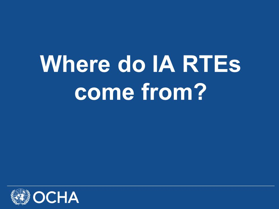 IASC IA RTE Interest Group develops an IA RTE Procedures and Methods Guide IA RTE Procedures and Methods Guide is endorsded by the IASC during its WG meeting in July 2010!