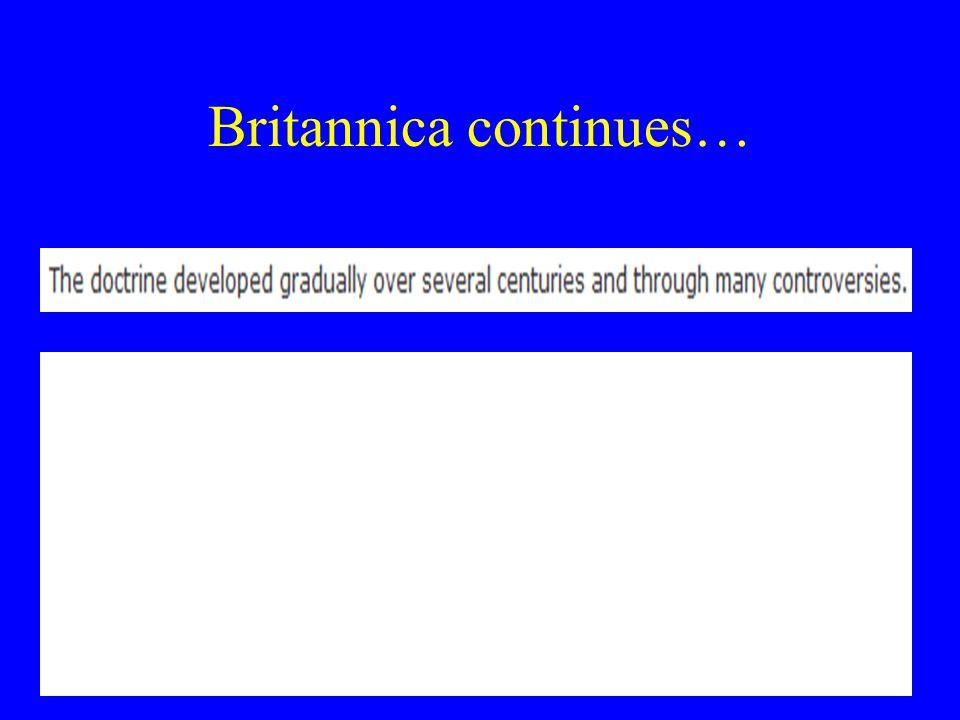 Britannica continues…