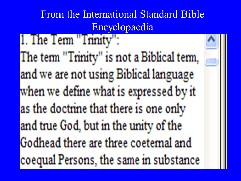 From the International Standard Bible Encyclopaedia