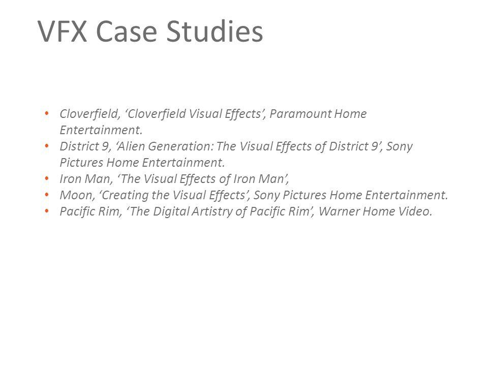 VFX Case Studies Cloverfield, 'Cloverfield Visual Effects', Paramount Home Entertainment.