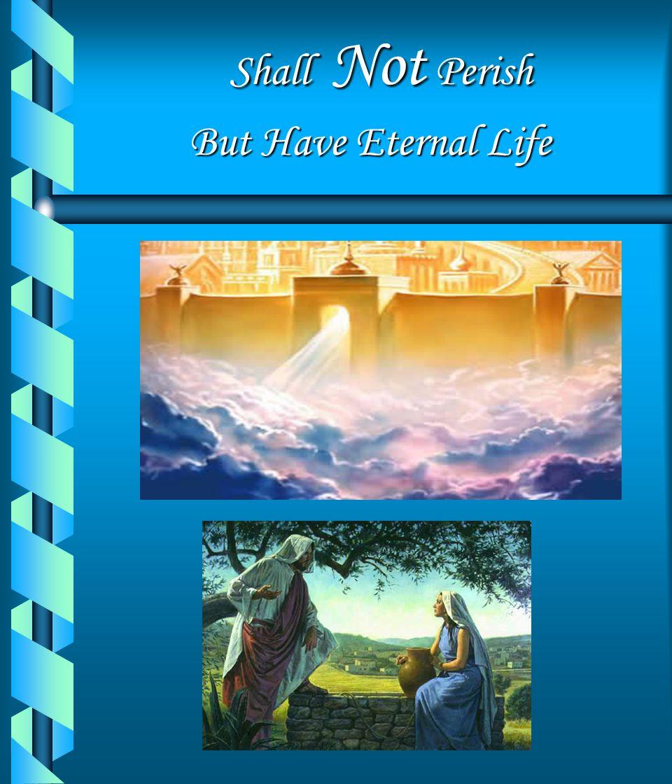 Shall Not Perish (Press any key to continue)