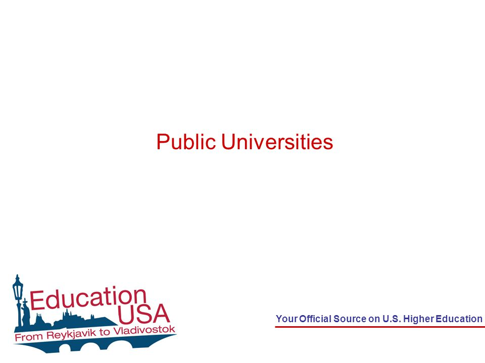 Your Official Source on U.S. Higher Education Public Universities