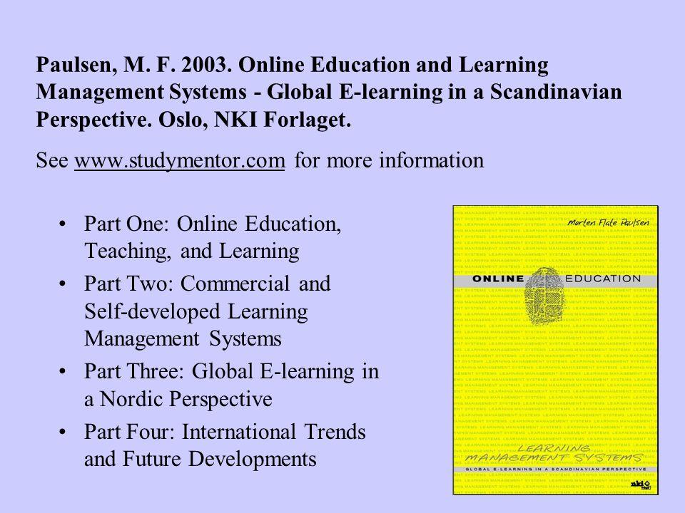 Paulsen, M. F. 2003.