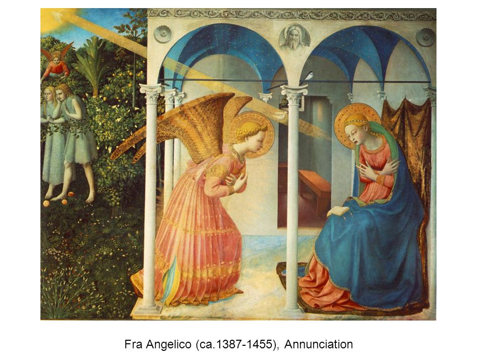Fra Angelico (ca.1387-1455), Annunciation