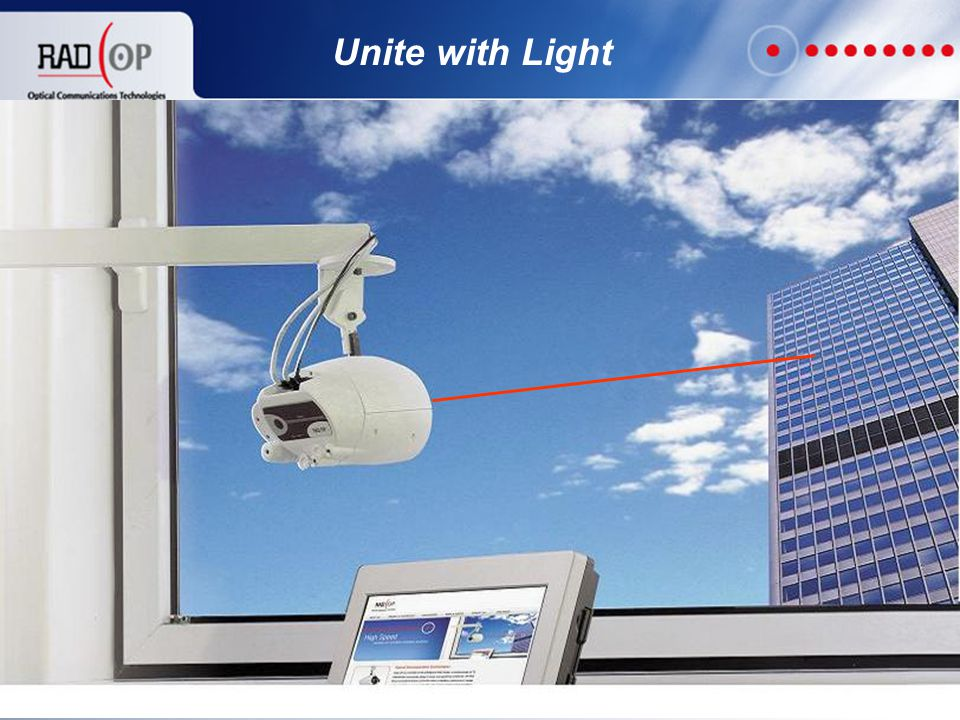 9 Product Highlights  100 Mbps/1 Gbps Ethernet connectivity  Range of 400 ft (120 meters)  Small and compact - only 1.5 lbs (700 grams)  Simple indoor installation (~30 minutes)  1M Eye safety laser standard  Operates in extreme conditions (50 dB/Km fog)  Secure optical connection  The least expensive high-speed link in the market