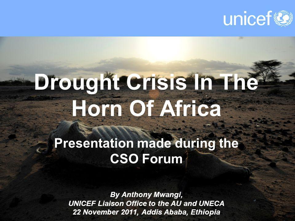 UNICEF Funding Requirements - Djibouti