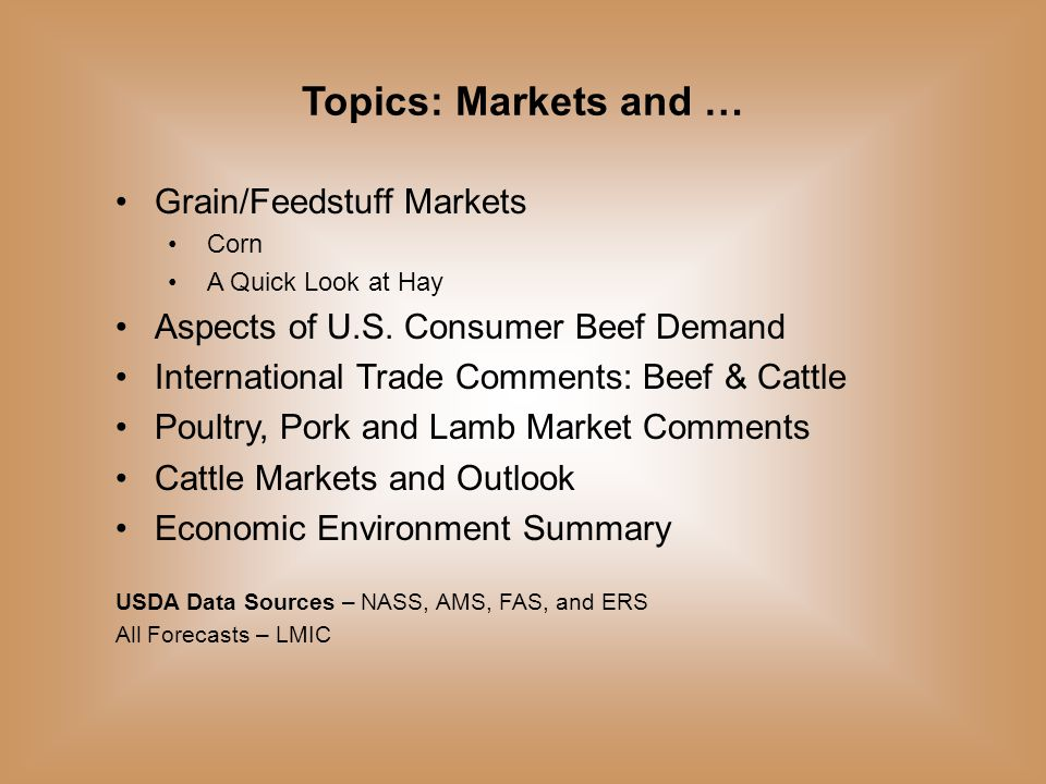 Data Source: USDA-NASS, Forecasts by LMIC