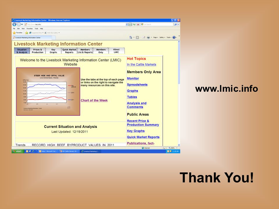 Thank You! www.lmic.info