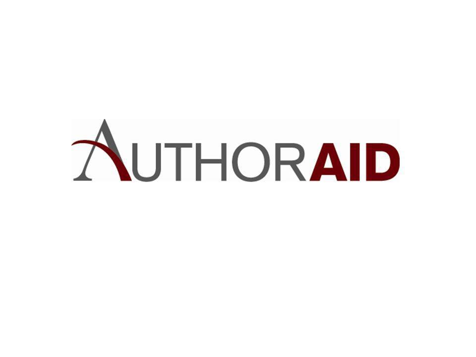 AuthorAID Workshops: More Practicalities Having attendees bring materials for exercises – Journal instructions to authors – Examples of published papers in their fields – Draft of, or material for, own paper – If available, poster presentations (probably in electronic form) – Other.