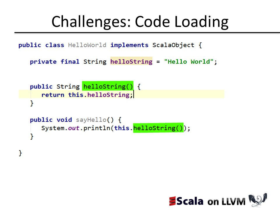 Challenges: Code Loading