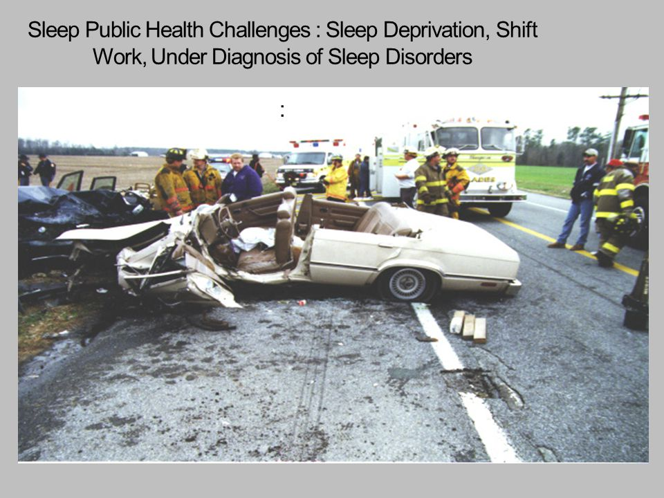 Sleep Public Health Challenges : Sleep Deprivation, Shift Work, Under Diagnosis of Sleep Disorders :