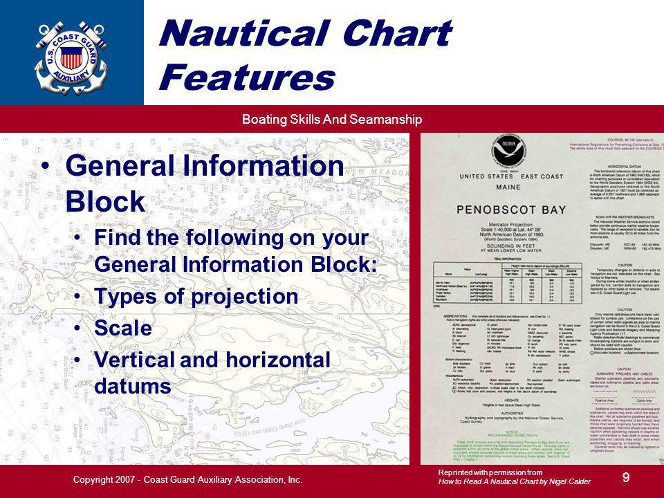 Boating Skills And Seamanship 30 Copyright 2007 - Coast Guard Auxiliary Association, Inc.