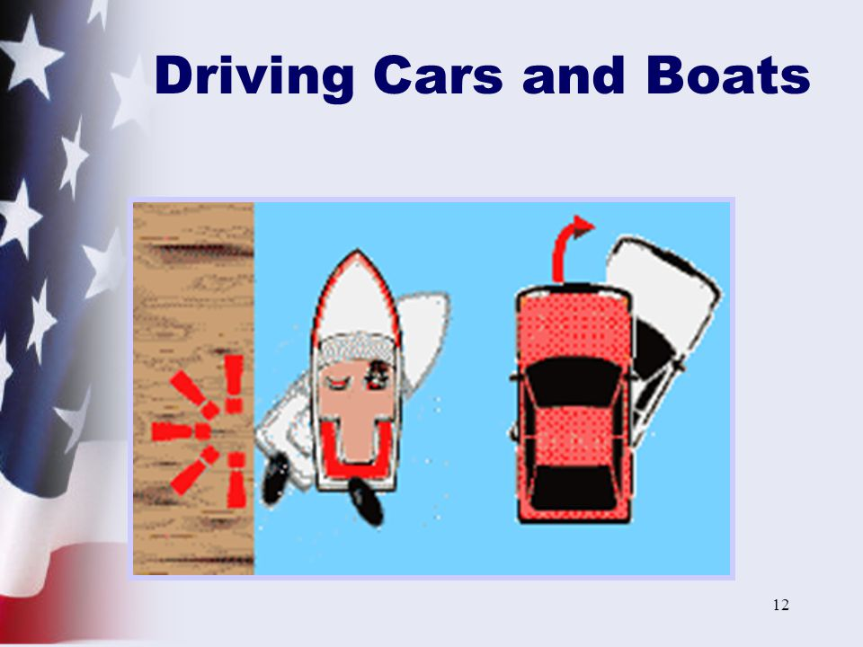 12 Driving Cars and Boats