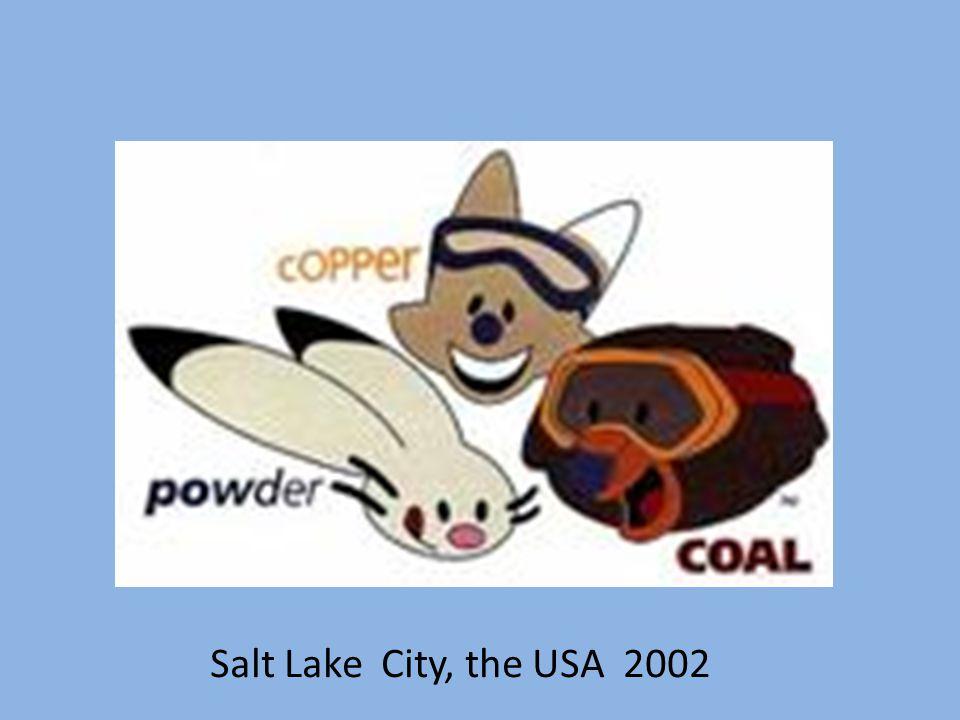 Salt Lake City, the USA 2002