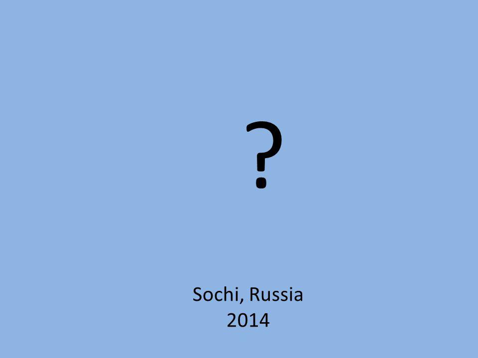 Sochi, Russia 2014
