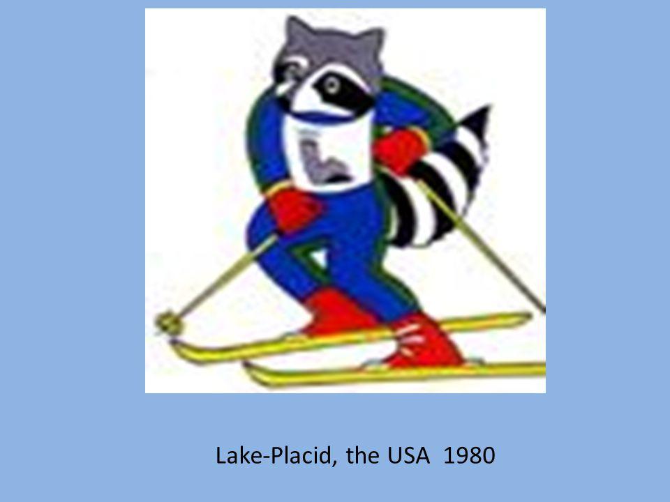 Lake-Placid, the USA 1980