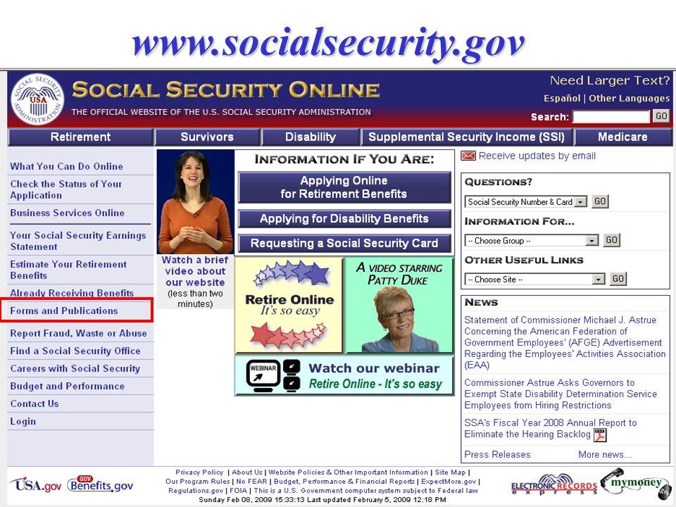 www.socialsecurity.gov