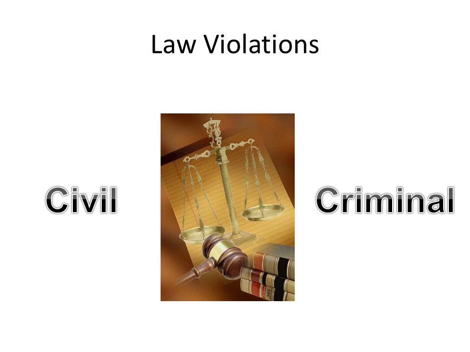 Law Violations