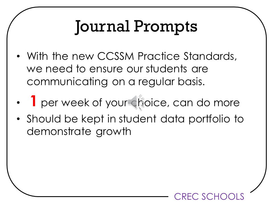 CREC SCHOOLS Unit Tracking Sheet No Changes Reminders – Optional – Can be used to help track student outcomes for unit