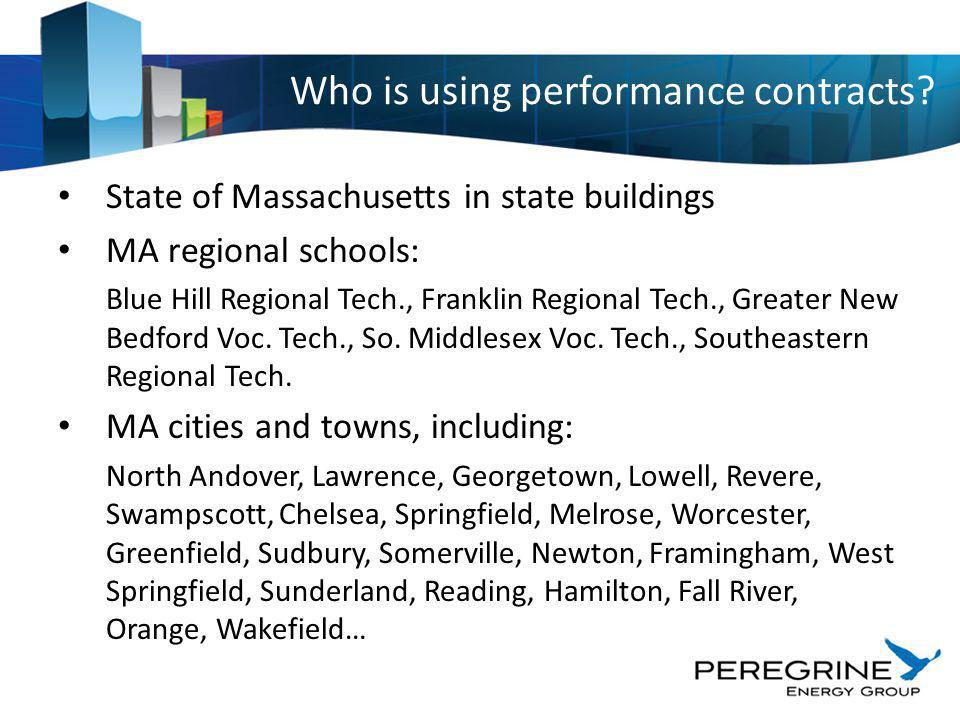 State of Massachusetts in state buildings MA regional schools: Blue Hill Regional Tech., Franklin Regional Tech., Greater New Bedford Voc. Tech., So.