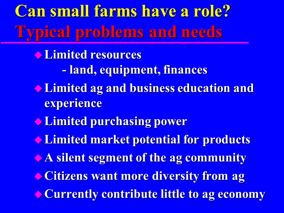 What is a farm. According to the U.S.
