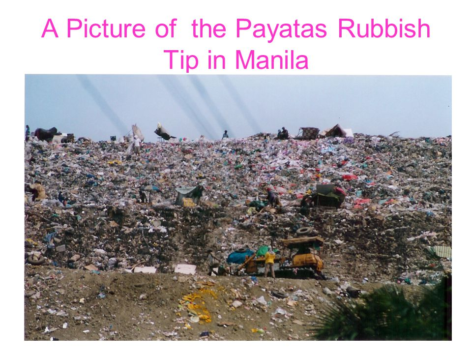 A Picture of the Payatas Rubbish Tip in Manila