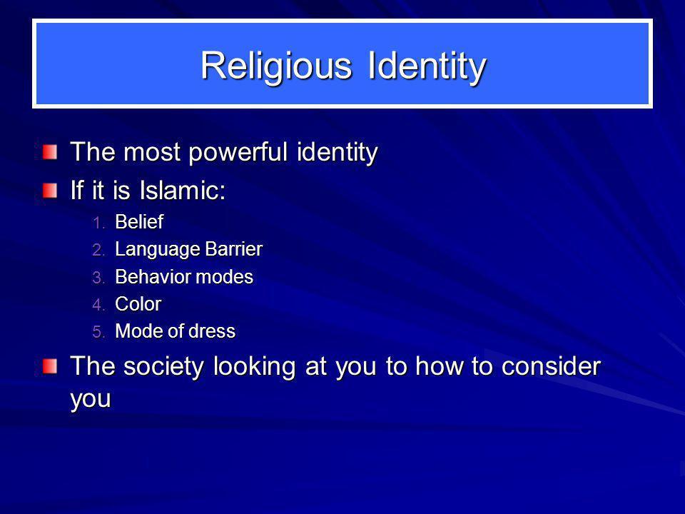 Identity in America 1.