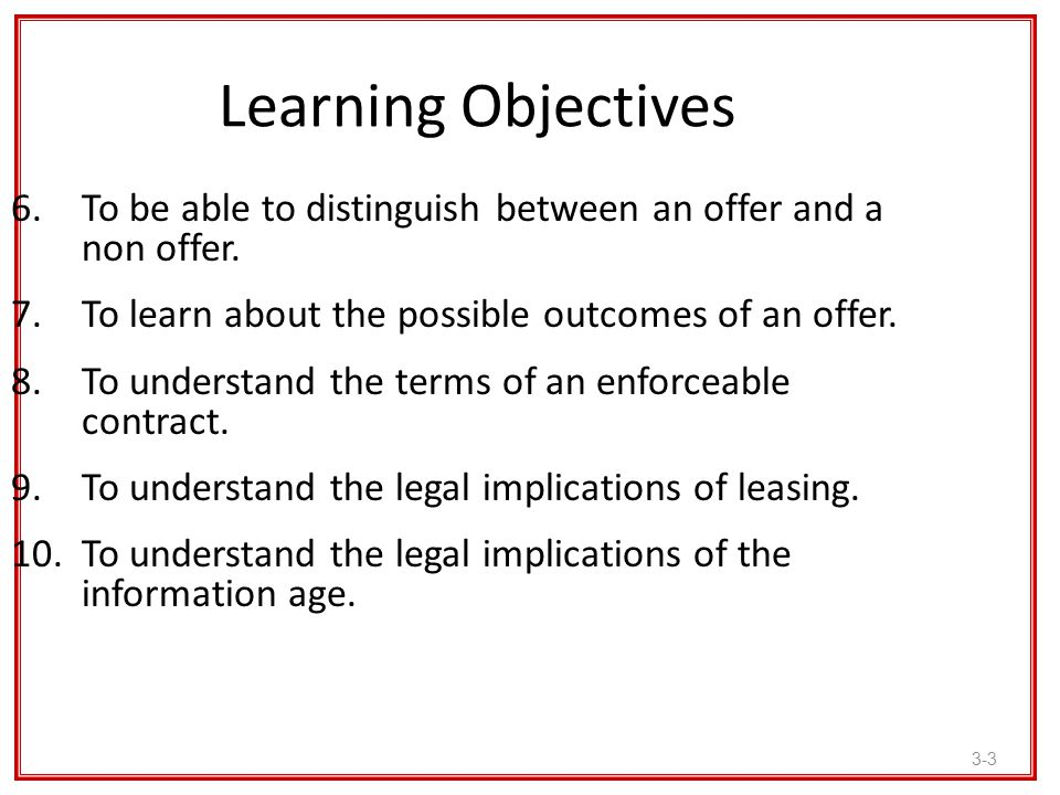 3-4 Learning Objectives 11.To understand how to comply with women business enterprise (WBE), minority business enterprise (MBE), and disadvantaged business enterprise (DBE) programs.