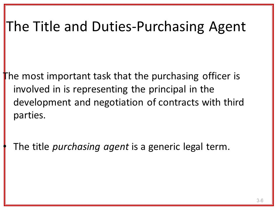 3-17 Option Contracts In case the supplier is unwilling to give the buying firm a firm offer, the purchasing professional should attempt to offer the seller an option contract.