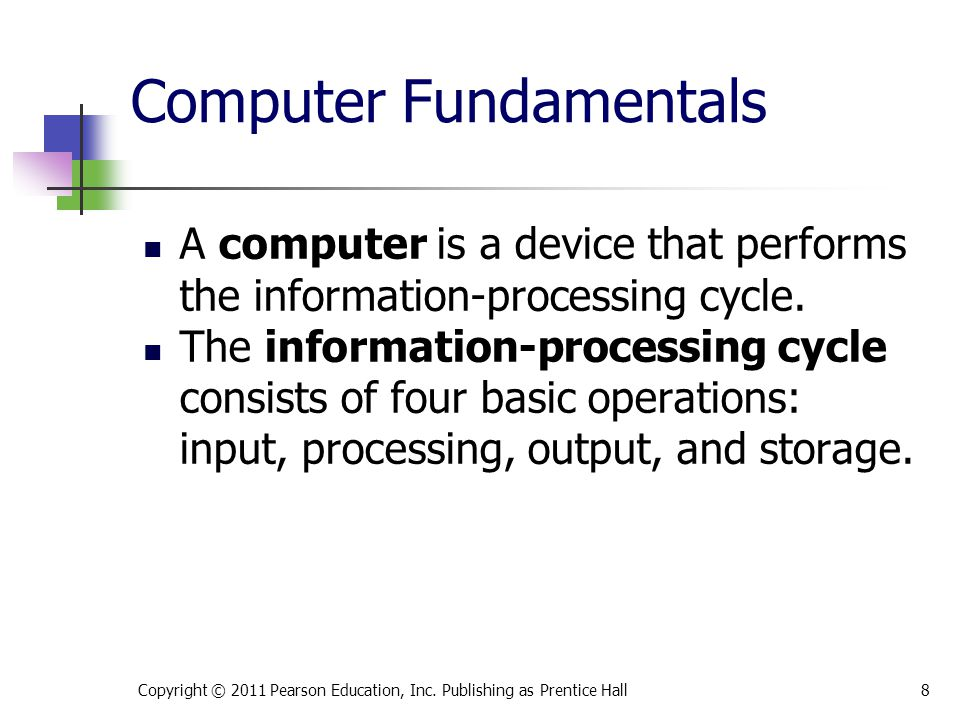 Types of Computers Computers can be separated into two main types: Computers for individuals are normally designed for one user at a time.