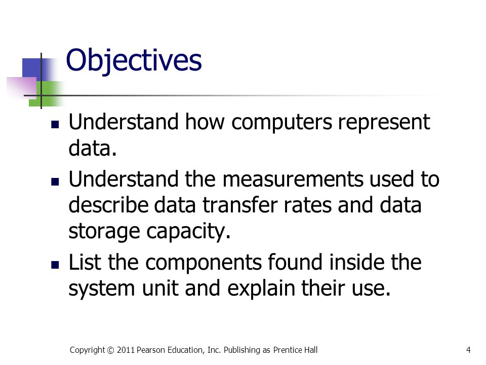 Objectives List the components found on the computer's motherboard and explain their role in the functioning of the computer's systems.