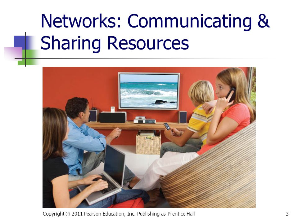 Objectives Understand basic networking concepts.
