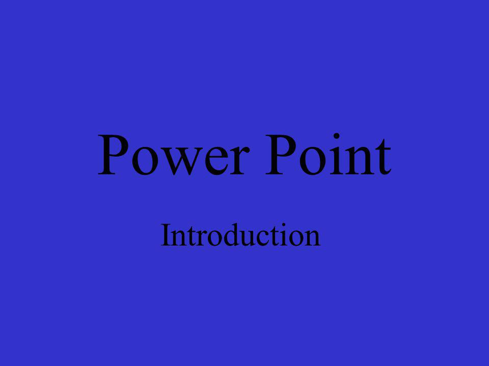 Step eight Completion of Slide Show Power Point has even more options that you can work with, but these steps you have just learned are enough to make an interesting and informative presentation.