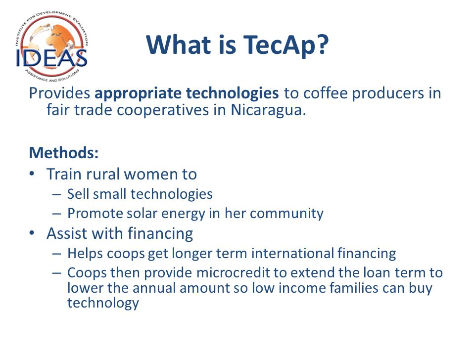 What is TecAp.