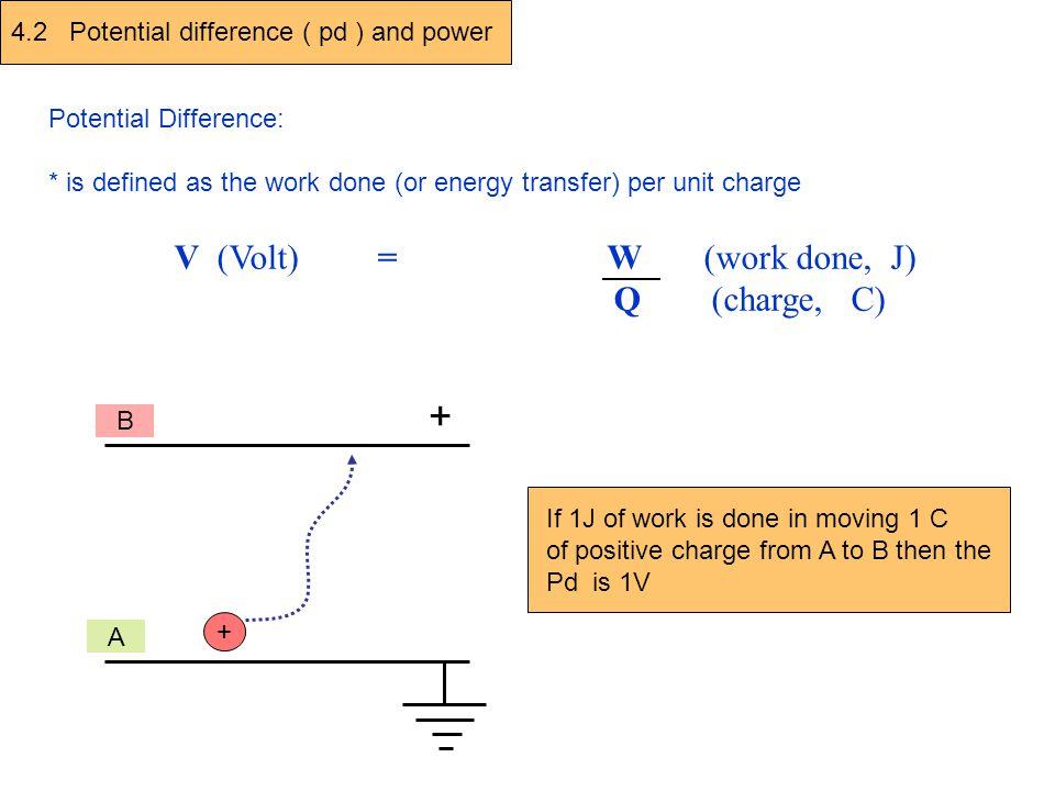 V V V 3 V 4 3 V 4 Voltages in series circuits