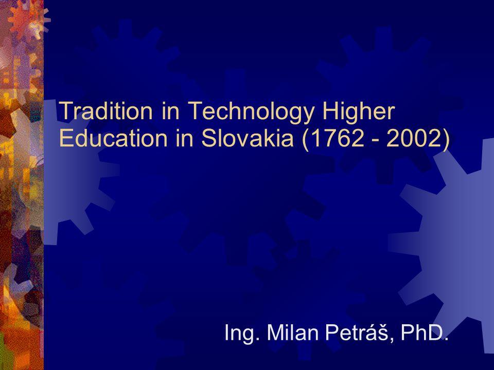  Vienna around 1750  System changes of education  Initiators: Sonnenfeld, Justi  Coordinator: Swieten  Impulse: 16.